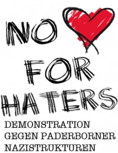 No love for haters  Banner